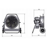 Вентиляторы AFE-500-4,8HP
