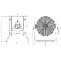 Осевые вентиляторы в корпусе AFK
