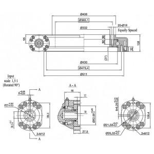 ISB ОПУ с червячным приводом SG430