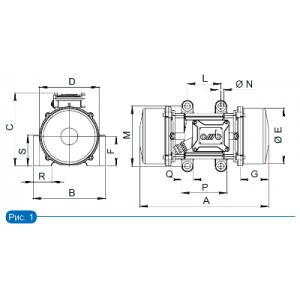 Вибромоторы VFC и VFP